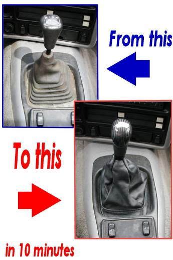 Leather Shift Boot