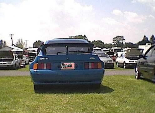 XR4Ti Wide Body - Back