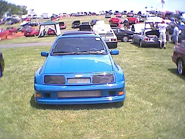 XR4Ti Wide Body - Front