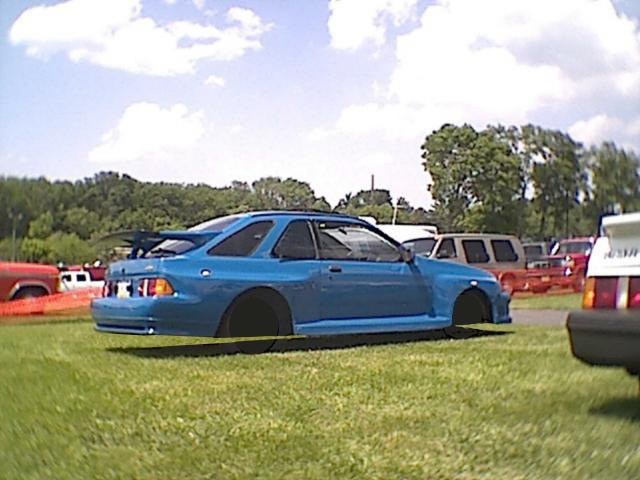 XR4Ti Wide Body - Left